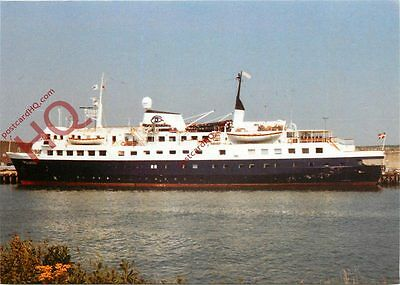 Picture Postcard--MS Polaris At Newhaven