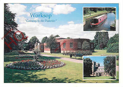 Picture Postcard--Worksop (Multiview)