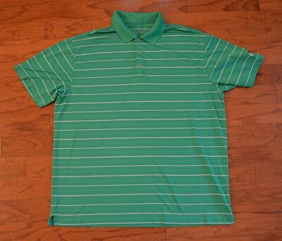 Men's NIKE Golf Dri-Fit Polo Shirt Kelly Green XL