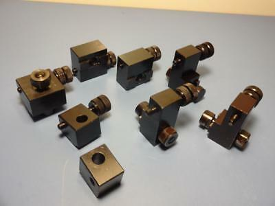 Swiss Sixis S102 S101 Universal Milling Machine Table & Head Stops *lot Of 8*