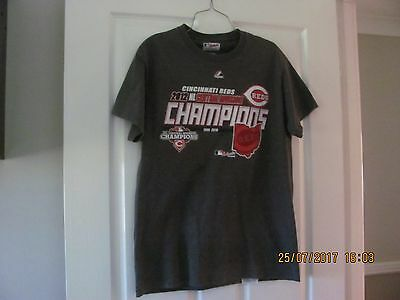 Majestic Authentic Collection Cincinnati Reds Men's T-Shirt Size M P/up Or Post