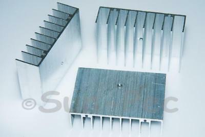 Aluminum Radiator Heatsink Heat Sink Cooler 75x50x21mm 2pcs for Chip LED CPU