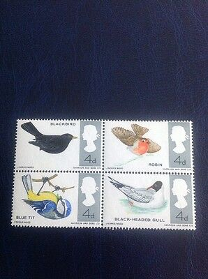 1966 GB 4d BIRDS SCARCE  'MISSING LEGS' VARIETY SG 698-9j Cat Val £250