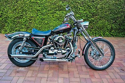 >>>TOP 1979 Harley Davidson Ironhead Custombike!<<<