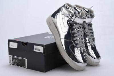 ff9577a5d5d8 Nike Lunar Force 1 Mid SP 652849-092 Metallic Silver Men Size 10 Sneakers DS