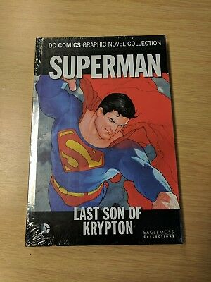 Eaglemoss DC Comics Collection - Superman - Last Son of Krypton - Sealed/Unread