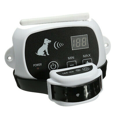 Rechargeable Waterproof Wireless Dog Pet Fence System Electric Training Collar