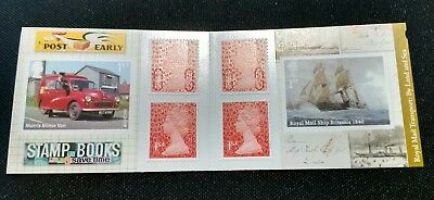 2013 PM40 Transport by Land and Sea Booklet 6 x 1st