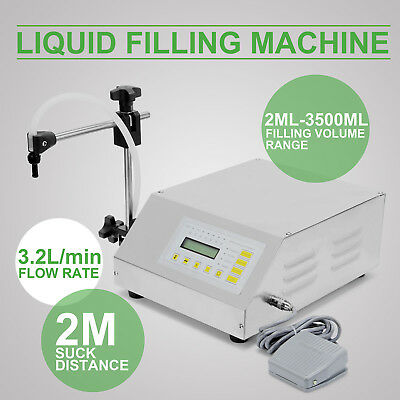 Multifunctional Digital Control GFK-160 5-3500ml Pump Liquid Filling Machine