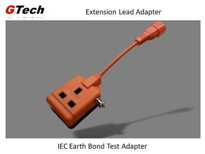 IEC Lead PAT Test Adapter - For Testers WITHOUT an IEC Socket.