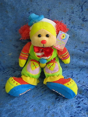 Beanie Kids - Chuckles The Clown Bear 429G Royal Perth Show 2007 Rare Soft Gift