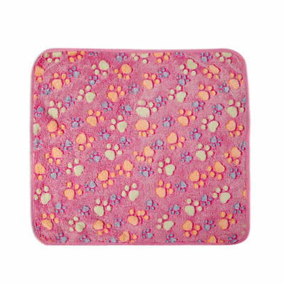 Rose Couverture Couchage Tapis Coussin Matelas Blanket Pour Chien Chat Animal