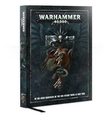 warhammer 40000 hardcover rulebook 8th edition new