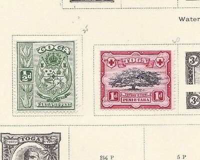 Tonga Lot / Collection Of 24 Various Stamps