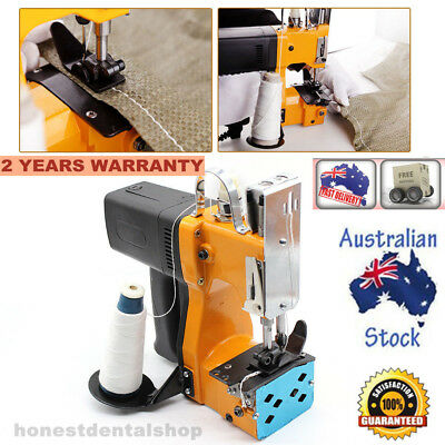 Industrial Portable Electric Bag Stitching Closer Seal Sewing Machine 220V New