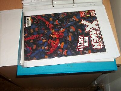 marvel comic essental xmen issue 19 13/01/16 bagged and boarded careful owner