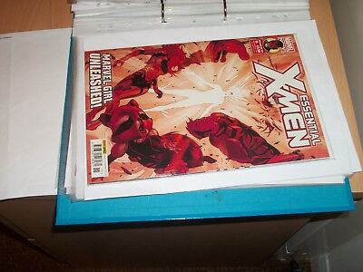 marvel comic essentail xmen issue 15 23/09/15 bagged and boarded  careful owner