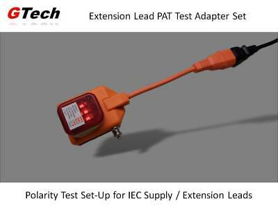 IEC Lead PAT Test Adapter + Socket Tester - For Testers WITHOUT an IEC Socket.