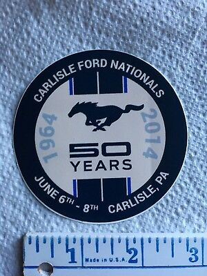 Carlisle Ford Nationals 50th Anniversary Mustang Sticker