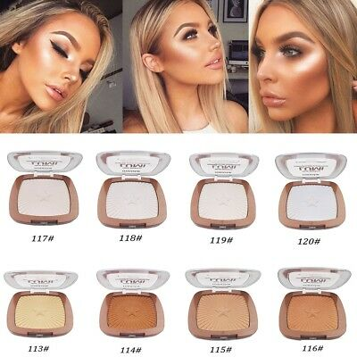 8 Colors Shimmer Contour Powder Highlighter Bronzer High Light Cosmetic Makeup