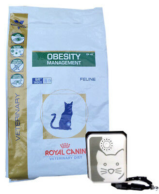 6kg Royal Canin Obesity Management DP 42 Veterinary Diet + Tchibo Katzensignal