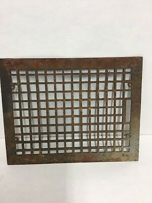 Vintage Hot Air Heating Floor Register 18 X 14