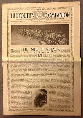 Antique THE YOUTH'S COMPANION NEWSPAPER -January 17, 1918