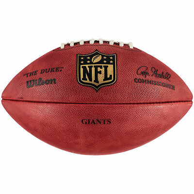 NEW Wilson Duke Authentic Leather NFL Game Ball (Gridiron Ball)