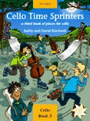 CELLO TIME SPRINTERS with CD easy music tutor book