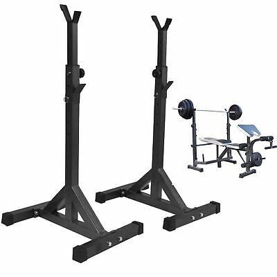 Peso Palestra Bench Rack supporto bilanciere Rack squat 42''-67'' regolabile RA