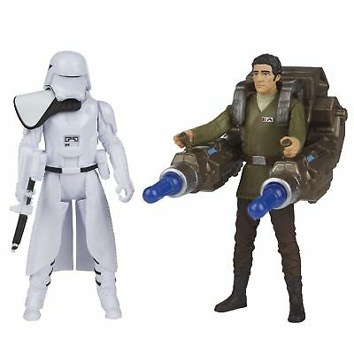Disney Star Wars First Order 'Snowtrooper & Poe Dameron' Action Figure Toy Gift