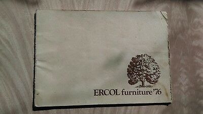 ERCOL Furniture Brochure Catalogue 1976 Day Bed/Chairs/Table/Sideboard Windsor