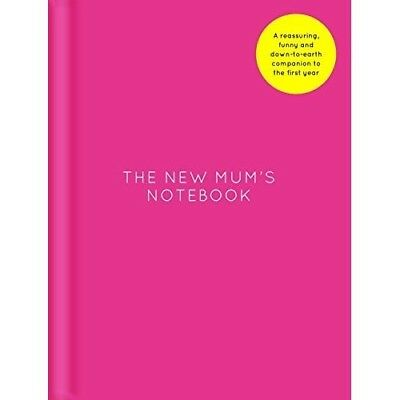 The New Mums Notebook Amy Ransom Pink Hardback Pregnancy Diary Memory Book Gift