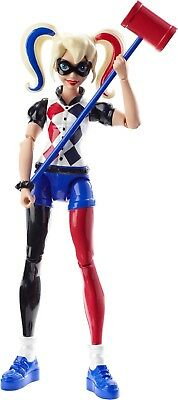 DC Super Hero Girls 6 Inch Action Figure Harley Quinn Doll Toy Kids Collectible