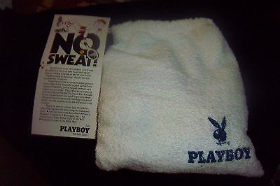 Vintage Playboy Magazine (No Sweat) Active Wear Wristband Headband Towel Socks