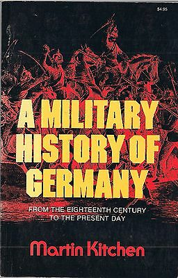 A Military History of Germany by Martin Kitchen