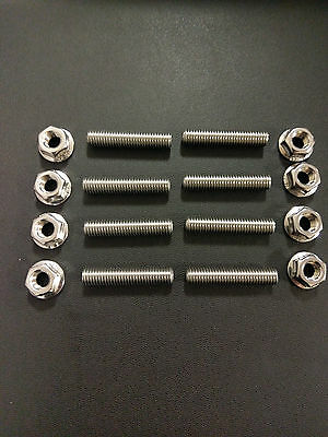 Yamaha Fazer 600 Stainless Exhaust Studs and Flange Nuts bolts
