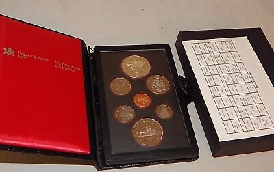 1982 Canada Proof Coin Set w/ Silver Commemorative Dollar