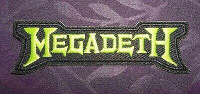 Megadeth Patch Embroidered  Dave Mustaine Heavy Metal Thrash 80'S Diy