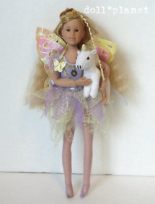 Only Hearts Club Taylor Angelique Princess Doll with wings and pet Unicorn blond