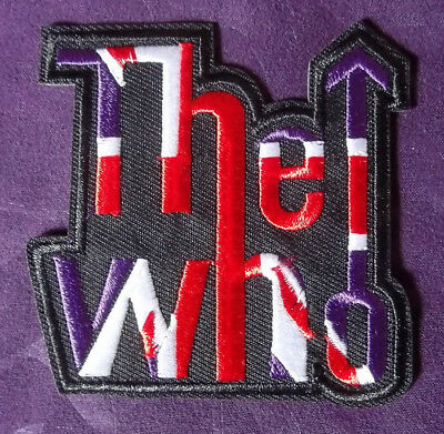 The Who Patch Embroidered Tommy Pete Townshend Classic Rock Diy