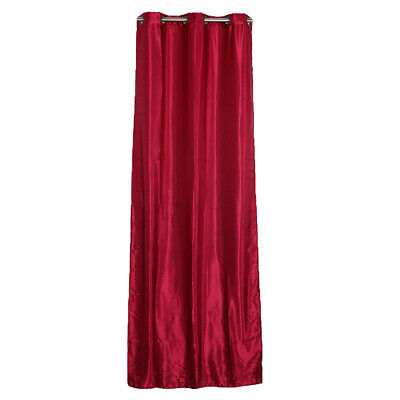 1 Panel Curtains Ready Made Room Thermal Insulated Eyelet Top Blackout Curtains