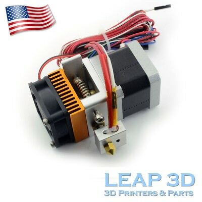 3D Printer 1.75mm Filament Extruder for Prusa i3 ORD Bot Reprap 3D printer 0.4mm
