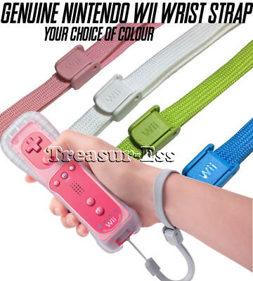 Licensed Nintendo ●● REPLACEMENT WRIST STRAP For Your Wii Remote ●● Your Choice