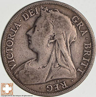 1896 Great Britain 1/2 Crown *2888