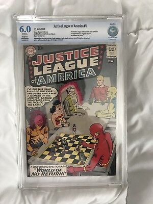 justice league of america 1 Cbcs 6.0 R Not Cgc