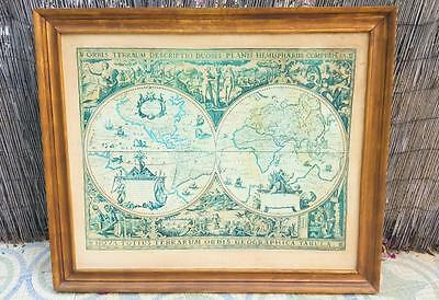 Mapa mundi / Antique world map