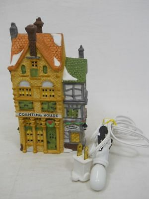 Department 56 Dickens Village Series 1988 Counting House with Light