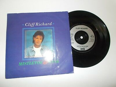 Mistletoe & Wine - Cliff Richard  *free P&p*
