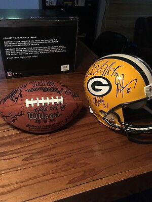 Packers Football team signed autographed